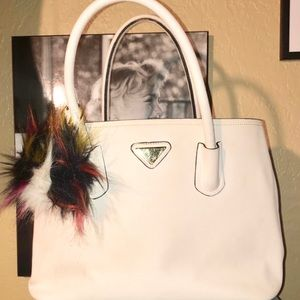 Large White Boutique Brand Luxury Bag